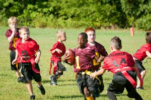 Join a sports team to meet new families