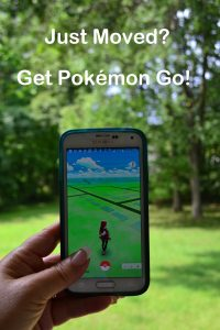 Just Moved Get Pokemon Go