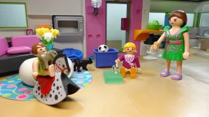 Role play is a fun way to teach your child to make friends.