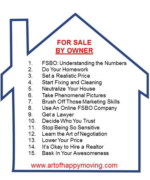 FSBO: 15 TIPS TO SELL YOUR HOUSE BY OWNER
