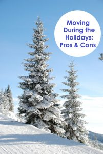 The Pros and Cons of Moving During the Holidays. www.artofhappymoving.com The Art of Happy Moving