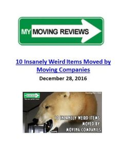 10 Insanely Weird Items Moved by Moving Companies. The Art of Happy Moving. www.artofhappymoving.com