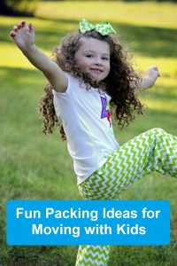 How to Make Packing With Kids a Fun Family Experience. The Art of Happy Moving. www.artofhappymoving.com