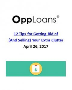 OppLoans_12 Tips for Getting Rid of (and Selling) Your Extra Clutter