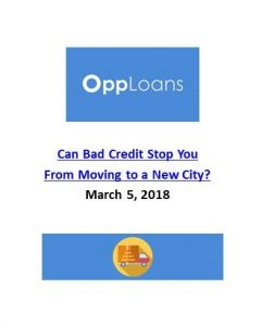 OppLoans_Can Bad Credit Stop You From Moving to a New City