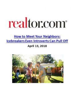 Realtor.com_How to Meet Your Neighbors